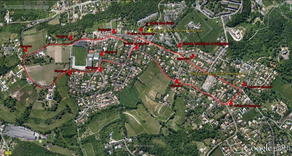 Plan 6km marche athlètique